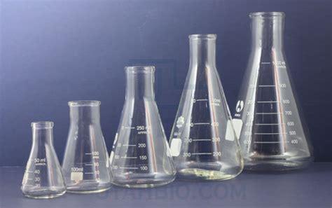 tabung labu erlenmeyer 100 ml alat laboratorium قلمرو شیمی ابزار آزمایشگاهی