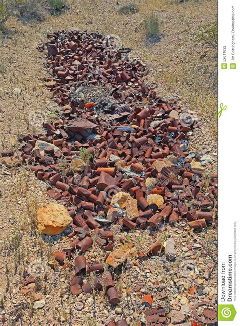 tin dump rust found mining