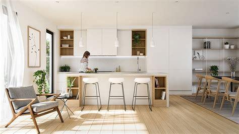 salon cuisine design déco scandinave 50 idées pour décorer votre cuisine au