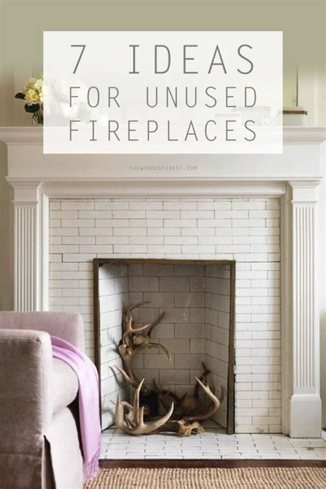 awesome ideas   unused fireplace white fireplace