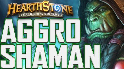 Hearthstone Reynad's Aggro Shaman Deck Guide!!! Youtube