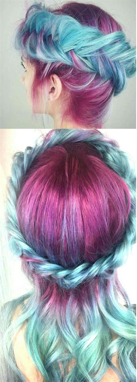 943 Best Mermaid Hair Images On Pinterest Colourful Hair
