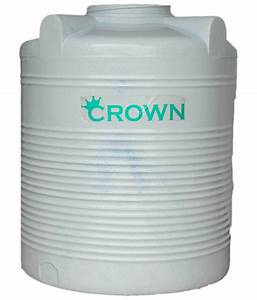 Buy Crown Gray Lldpe Plastic Four Layer Water Tank For ...