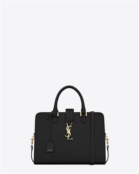 saint laurent small cabas monogram saint laurent  black