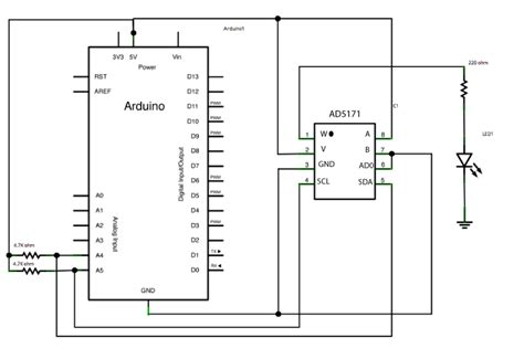 Arduino Digitalpotentiometer