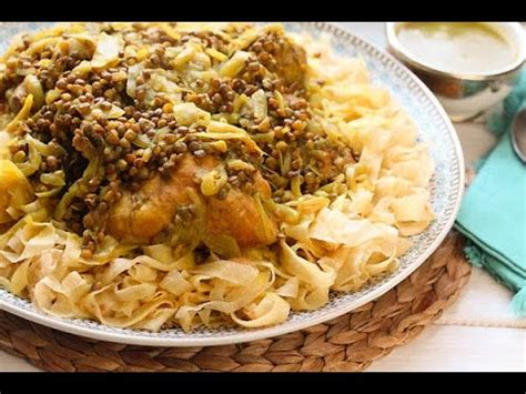 recette cuisine marocaine recette de rfissa au poulet chicken rfissa recipe