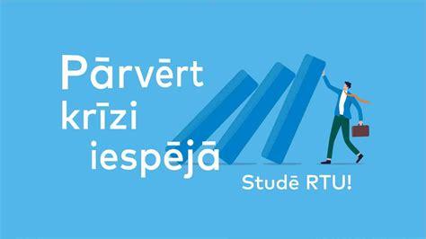 RTU notiek ziemas uzņemšana | Rīgas Tehniskā universitāte