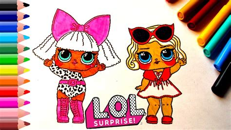 lol surprise baby doll coloring pages  kids lol