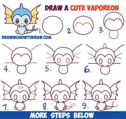 How to Draw Pokemon Step by Step Drawings