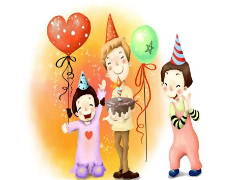 Birthday Cartoon Wallpaper