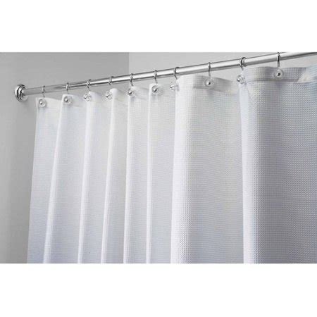 shower curtain 54 x 78 interdesign carlton fabric shower curtain stall 54 quot x 78