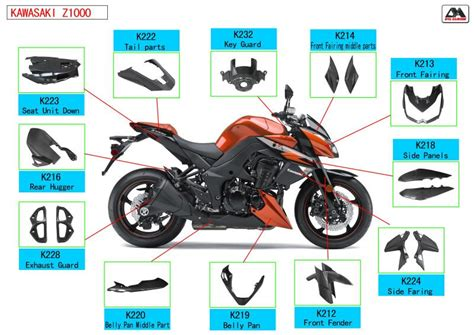Carbon Fiber Motorcycle Parts For Bmws1000rr