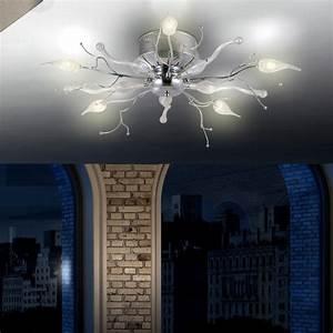Esszimmer Lampe Led : kronleuchter 5x led licht ste wohnzimmer leuchte esszimmer decken lampe bl ten ebay ~ Markanthonyermac.com Haus und Dekorationen
