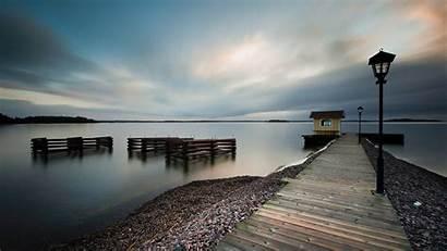 Dock Water Landscape Wallpapers Desktop Px Backgrounds