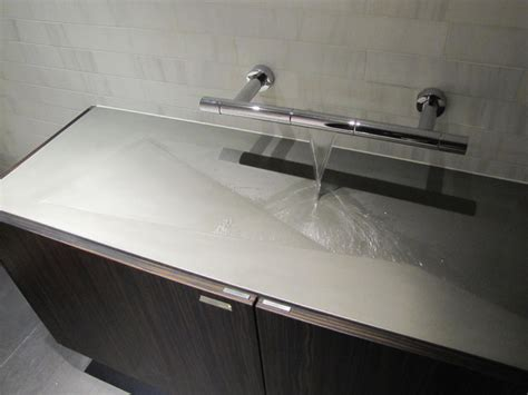 Concrete Bathroom Sink-modern-bathroom Sinks-new