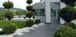 amenager un parterre fashion designs With superb amenager jardin en pente 9 amenagement terrasse et jardin photo meilleures images d