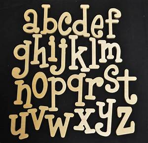 whimsical wooden letters supply craft supplies set of With whimsical font wooden letters