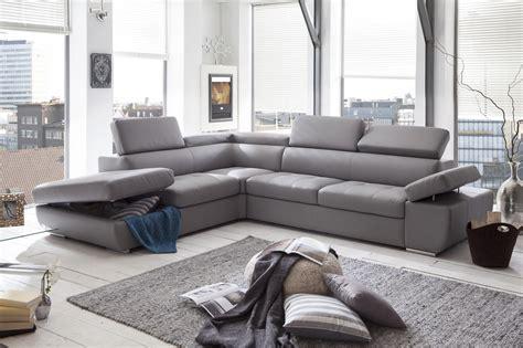 canape d angle gris pas cher canapé d 39 angle en cuir gris pas cher