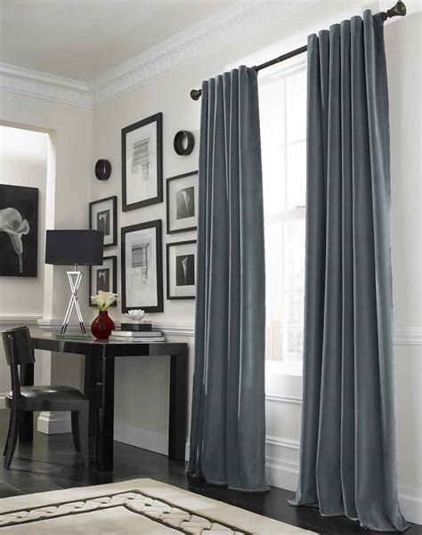 Fenster Vorhang Modern by Cool Grey Curtain Ideas For Large Windows Modern Home