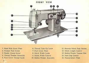 Kenmore 158 470 Sewing Machine Instruction Manual