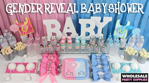 Gender Reveal Baby Shower Ideas  Party Ideas & Activities
