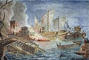 Battle Of Actium, 31 B c Photograph by Granger