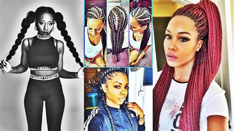 Latest Stylish Ponytail Hairstyles For Black Women 2017