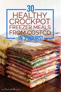 healthy crockpot freezer meal plans