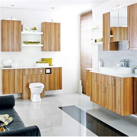 Fitted Bathroom Cupboards by Fitted Bathrooms Ideal Home