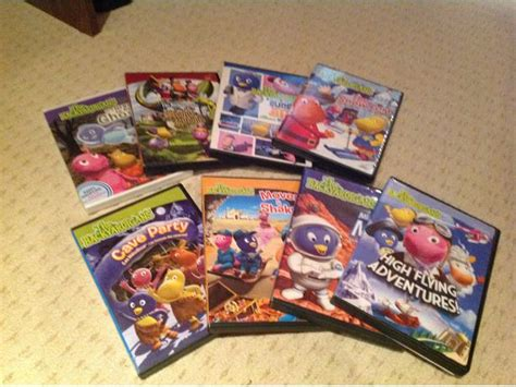 the backyardigans dvd s and stuffy east