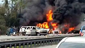 Fiery Crash Kills 7  Including 5 Children  On The Way To