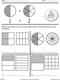 1000 images about 3rd grade math fractions on
