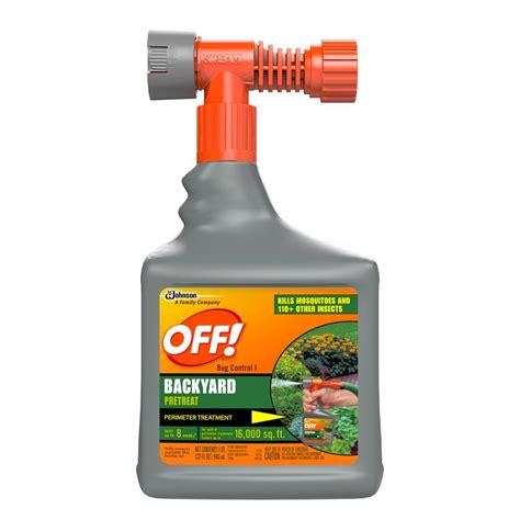 Backyard Spray by 32 Oz Bug Backyard Pretreat 621878 The