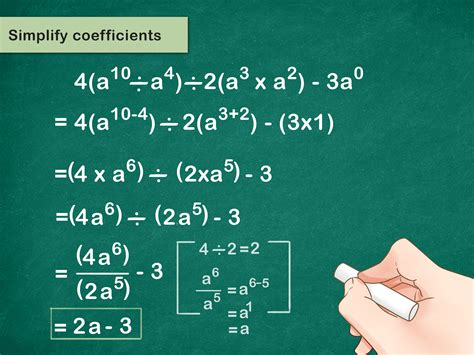 how to solve algebraic problems with exponents 8 steps