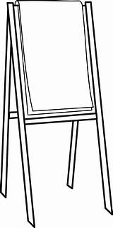 Easel Clipart Svg Clip Flipchart Drawing  Google Cliparts Chart Flip Paint Stand Commons Wikimedia Supplies Transparent Short Painting Quilt sketch template