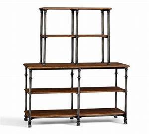 Industrial shelving can give an urban flavour to any space ...