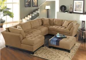 cindy crawford metropolis peat 4pc sectional living room