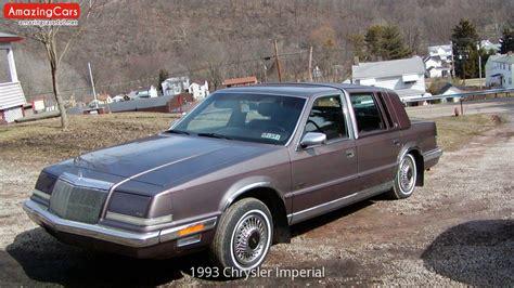 1993 Chrysler Imperial 1993 chrysler imperial