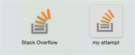 How Does Stack Overflow Make It So Their Apple