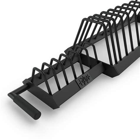 bumper plate rack toaster raw fitness equipment