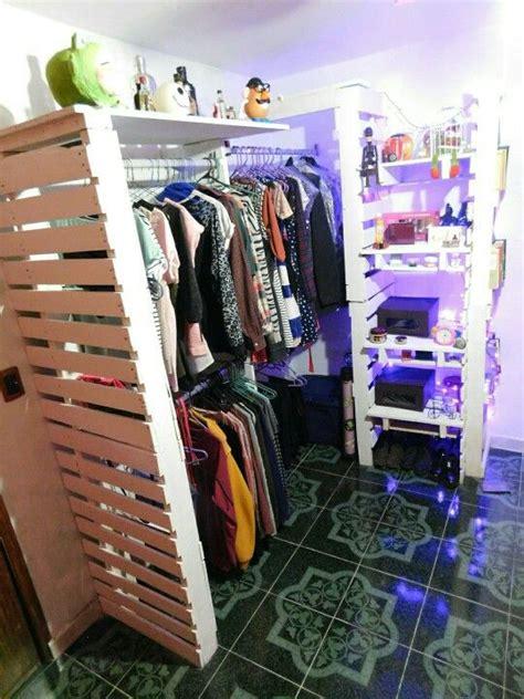 closet hecho  palets reciclaje decoracion sweet