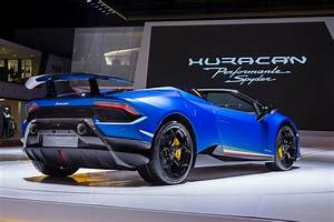 Lamborghini Huracan Spyder : meet the 308 859 630 hp lamborghini huracan performante spyder motor trend ~ Medecine-chirurgie-esthetiques.com Avis de Voitures