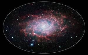 Space Images   M33: A Close Neighbor Reveals its True Size ...
