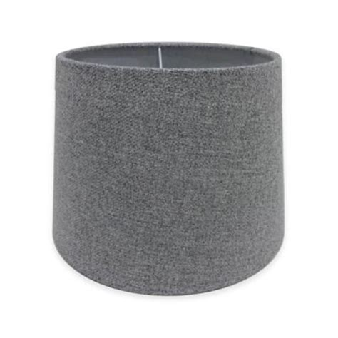 grey drum shade buy l shades from bed bath beyond 1488