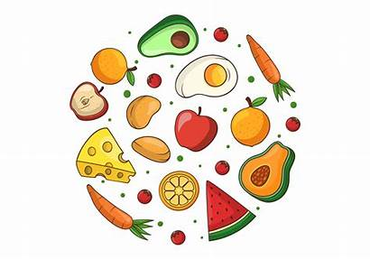 Clipart Healthy Clip Essen Graphics Gesundes Meal