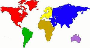 Stop Animation- The Continents   OneChild-vs-TheWorld