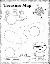 Treasure Pirate Map Coloring Pages Maps Template Sheet Printable Pirates Templates Kidsplaycolor Getcoloringpages Sheets Fun Island sketch template