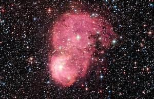 Hubble Spots Festive Nebula In Neighboring Galaxy