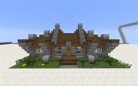 survival house tutorial minecraft building