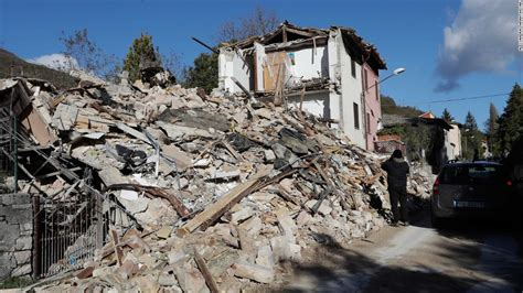 Earthquake Images Italy Earthquake 6 6 Magnitude Tremor Rocks Nation S